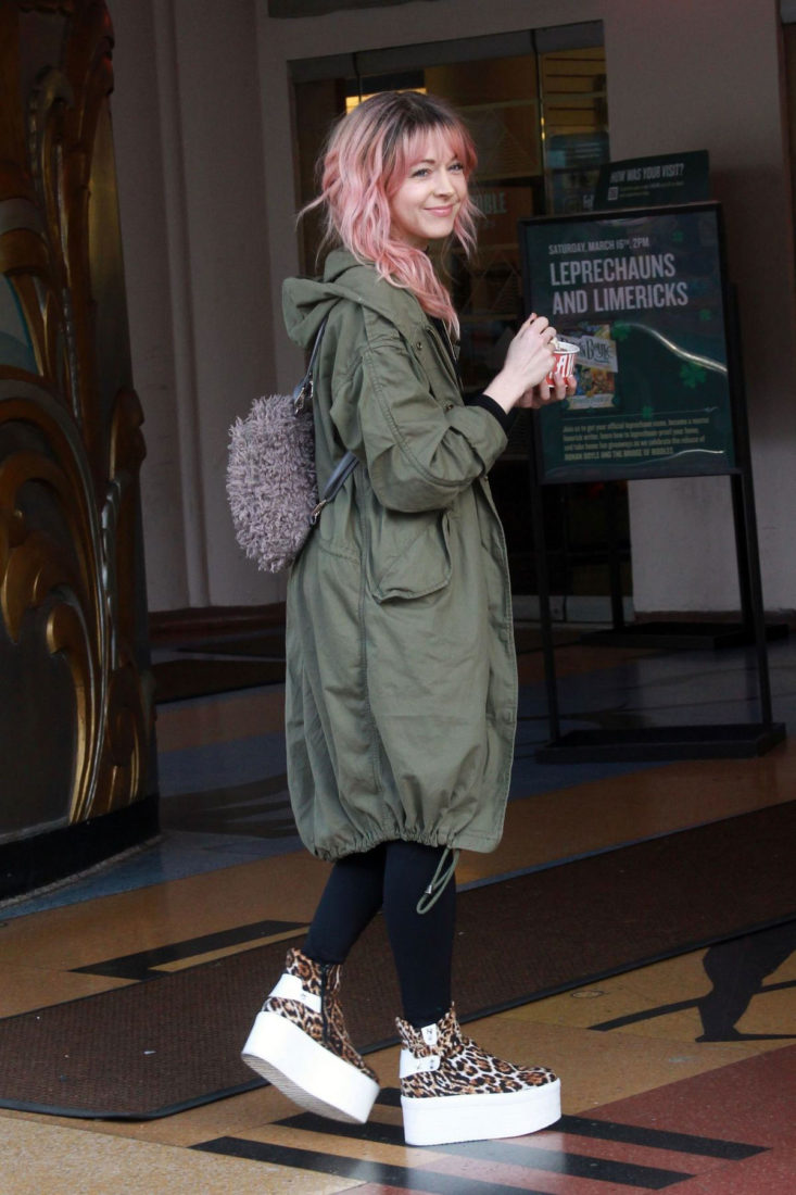 Lindsey Stirling Out and About in Los Angeles