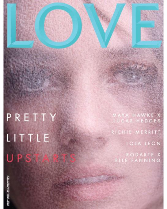 Maya Hawke in Love Magazine, Spring/Summer 2019
