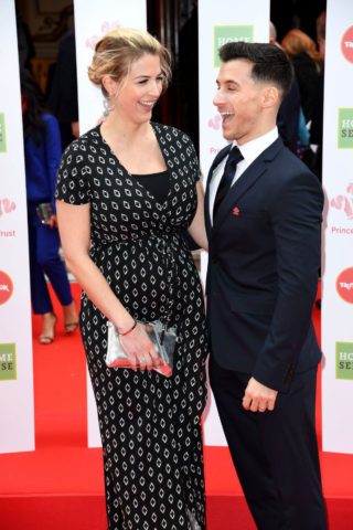 Pregnant Gemma Atkinson at The Prince's Trust Success Awards in London Palladium