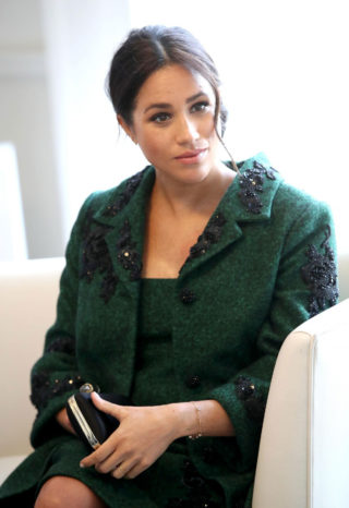 Pregnant Meghan Markle at Commonwealth Day Youth Event at Canada House in London