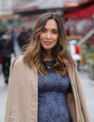 Pregnant Myleene Klass Out in London
