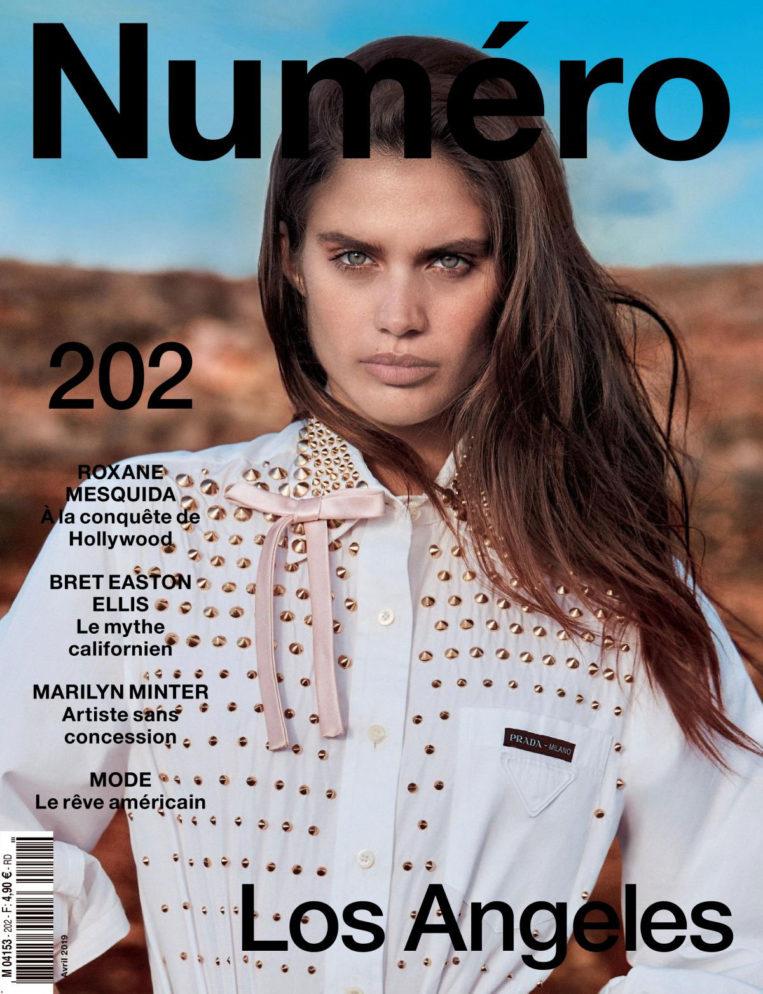 Sara Sampaio in Numero Magazine, France April 2019