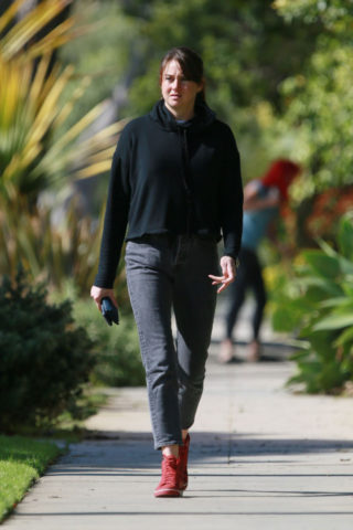 Shailene Woodley Out and About in West Hollywood