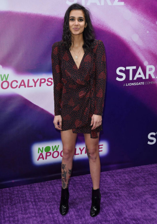 Sophia Taylor Ali at 'Now Apocalypse' Premiere in Los Angeles