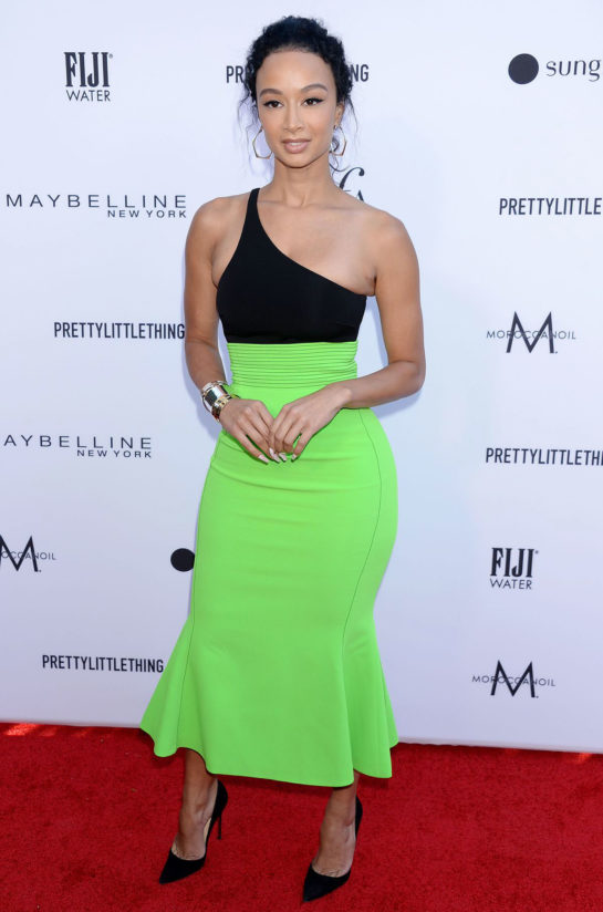 Draya Michele at The Daily Front Row Fashion LA Awards
