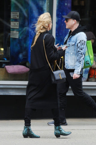 Amber Heard Out Shopping in New York