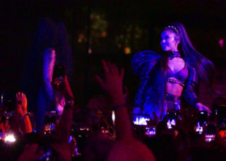 Ariana Grande Performs at Coachella Valley Music and Arts Festival in Indio