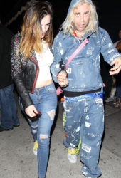 Bella Thorne Celebrates Modsun's Birthday at Warwick in Hollywood