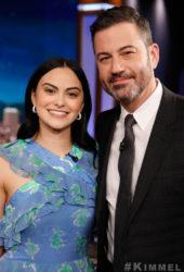 Camila Mendes at Jimmy Kimmel Live
