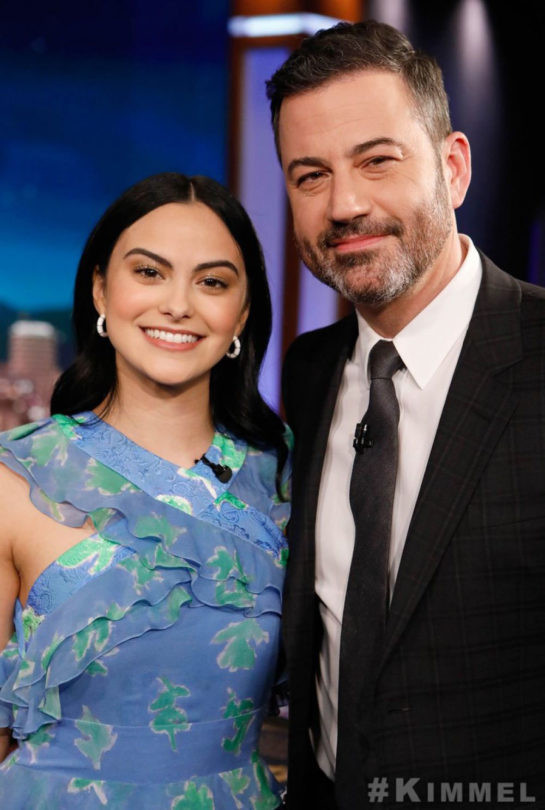 Camila Mendes at Jimmy Kimmel Live