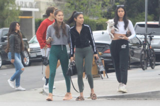 Chantel Jeffries steps out to have lunch at Cafe Gratitude in Beverly Hills