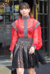 Charli XCX Leaves Bowery Hotel in New York