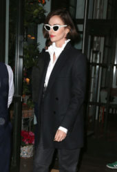 Charlize Theron Leaving Her Hotel in New York