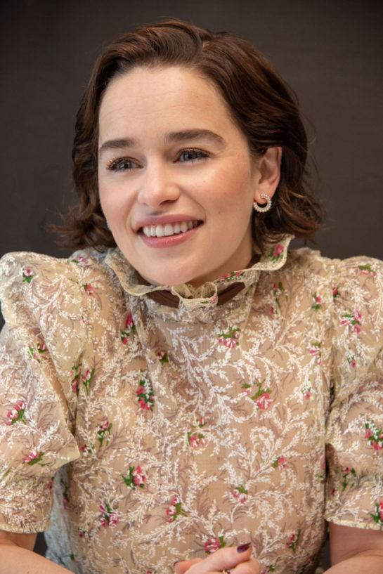 Emilia Clarke at Game of Thrones Season 8 Premiere in New York