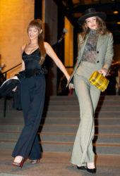 Gigi Hadid and Bella Hadid Night Out in New York