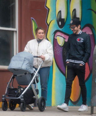 Hilary Duff and Matthew Koma Out in New York