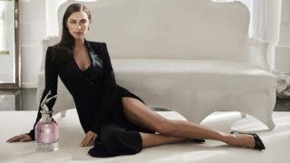 Irina Shayk for Jean Paul Gaultier Scandal a Paris fragrance