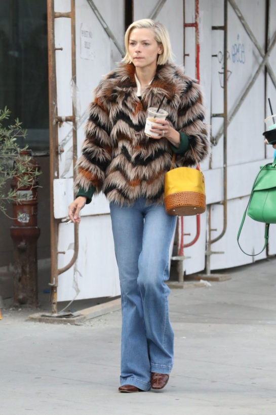 Jaime King Out Shopping in Los Angeles