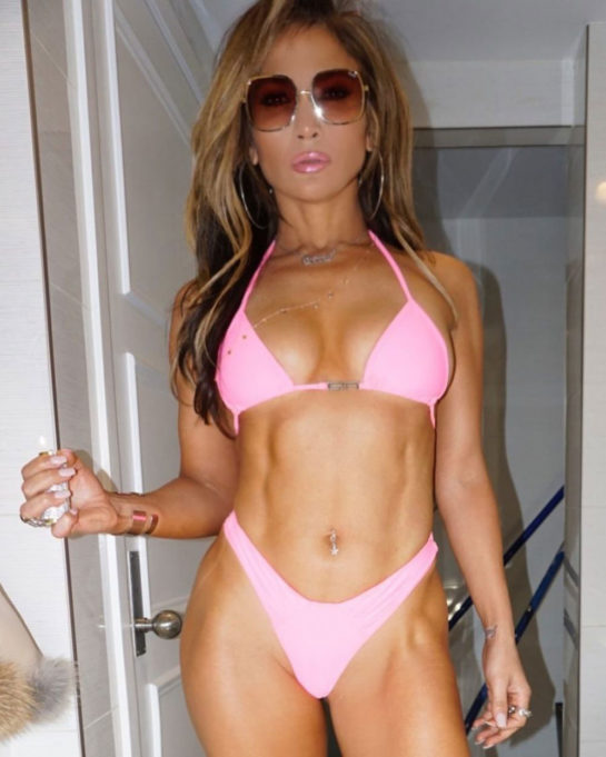 Jennifer Lopez Instagram Bikini Photos