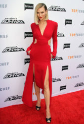 Karlie Kloss at Top Chef and Project Runway Event in Los Angeles