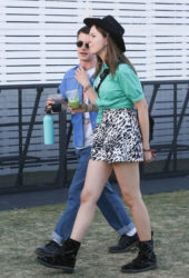 Kerris Dorsey and Dylan Minnette - Coachella in Indio