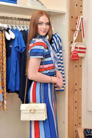 Larsen Thompson at Tory Burch & The Daily Celebrate Spring with Tory Burch Eau de Parfum in Beverly Hills