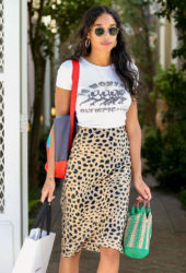Laura Harrier Out Shopping in West Hollywood