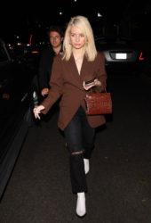 Lottie Moss Leaving Poppy Nightclub in West Hollywood