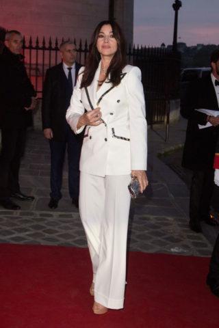 "Monica Bellucci Outside ""Clash De Cartier"" Photocall in Paris"