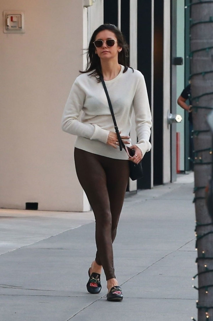 Nina Dobrev Out Shopping in Beverly Hills