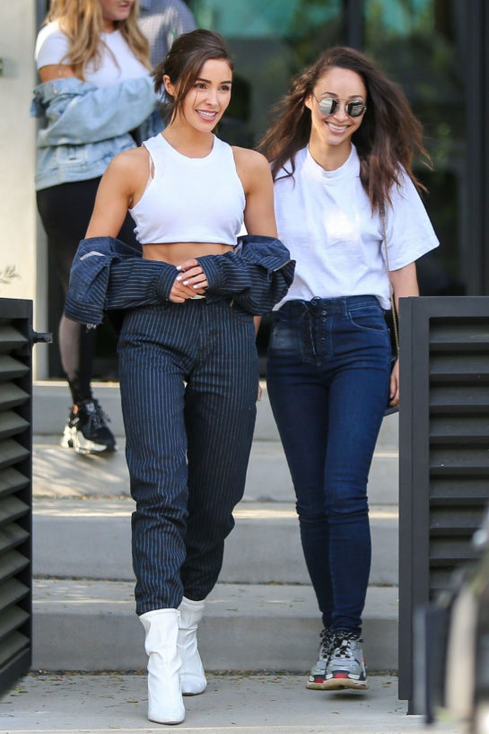 Olivia Culpo and Cara Santana Out House Hunting in Los Angeles