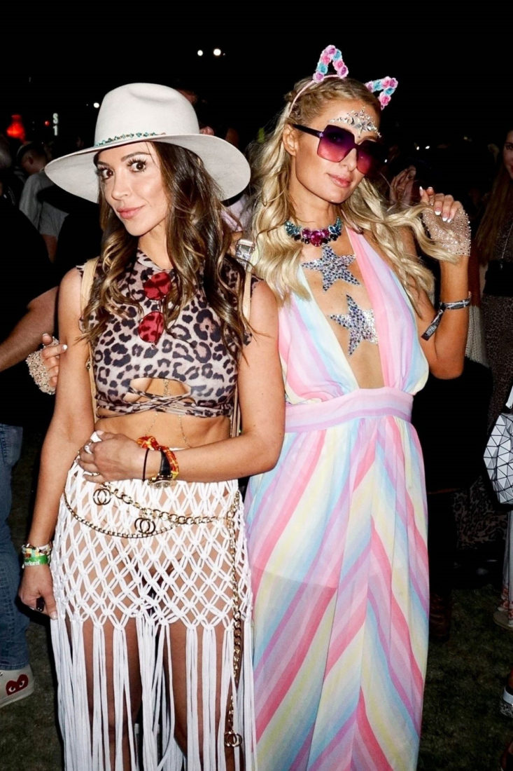 Paris Hilton Out at Coachella