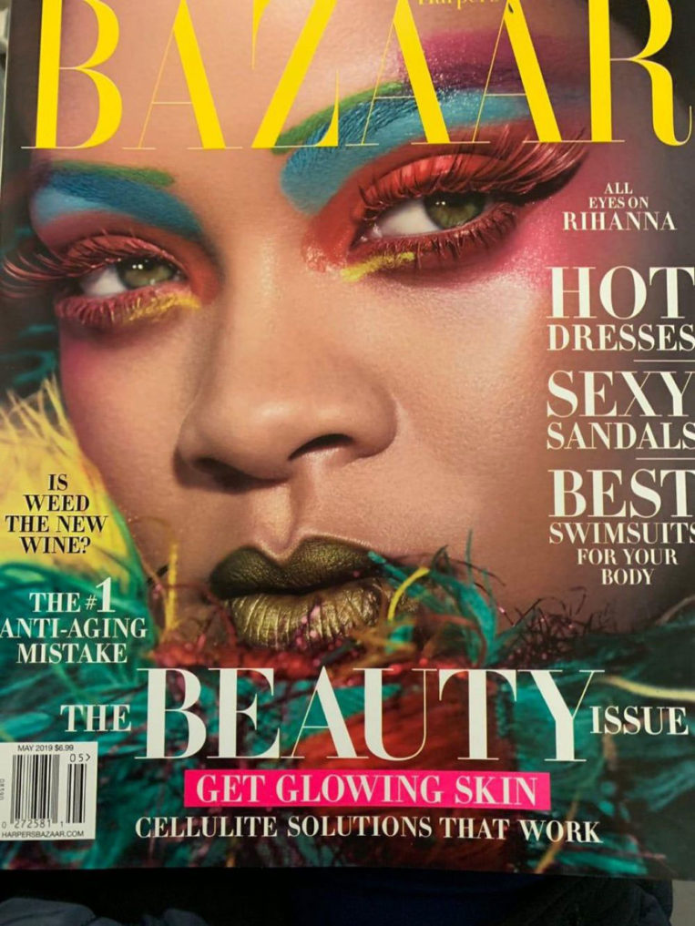 Rihanna for Harper's Bazaar Magazine, May 2019
