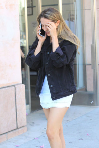 Scarlet Stallone Out Shopping in Beverly Hills