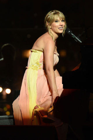 Taylor Swift Performs at Time 100 Gala at Jazz Lincoln Center in New York