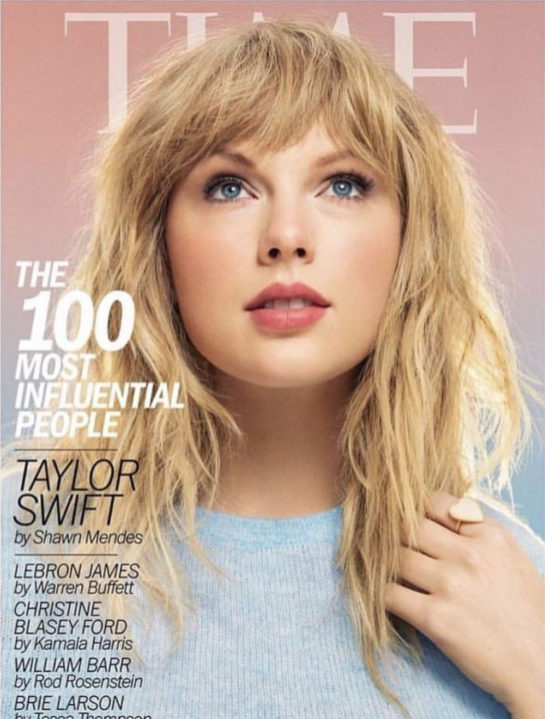 Taylor Swift Time 100 Most Influential People 2019