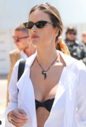 Alessandra Ambrosio Out at 2019 Cannes Film Festival
