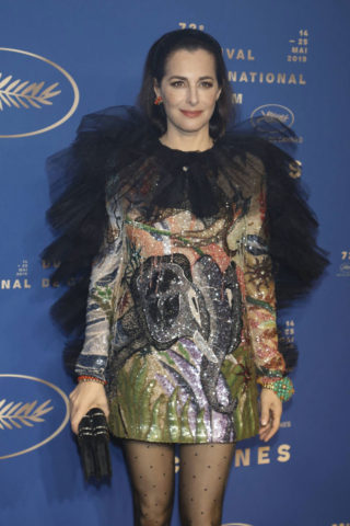 Amira Casar at The Dead Don't Die Premiere and Opening Ceremony of 72 Annual Cannes Film Festival
