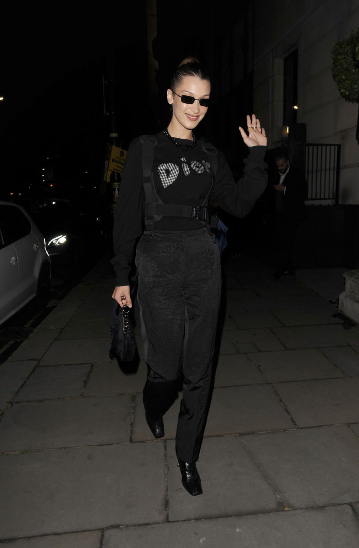 Bella Hadid at Christian Dior Party in London
