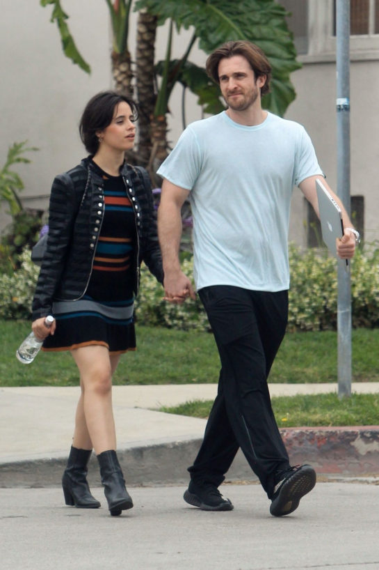 Camila Cabello and Matthew Hussey Out in Hollywood
