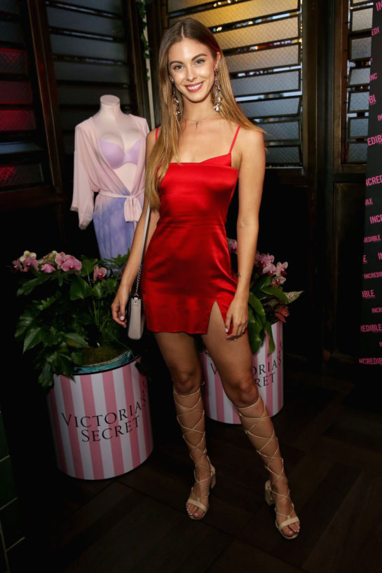 Carmella Rose at Incredible by Victoria's Secret Collection Launch Party in LA