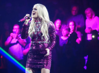 Carrie Underwood Performs at the MGM Grand Garden Arena in Las Vegas