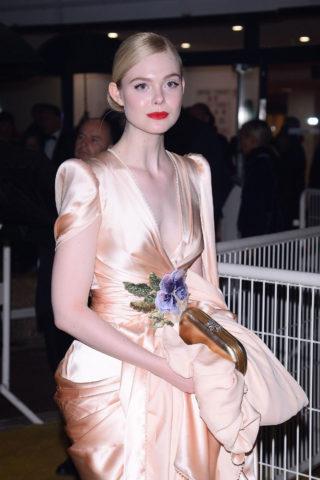 Elle Fanning Arrives at 72nd Cannes Film Festival Gala Dinner