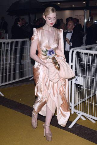 Elle Fanning Arrives at 72nd Cannes Film Festival Gala DinnerElle Fanning Arrives at 72nd Cannes Film Festival Gala Dinner