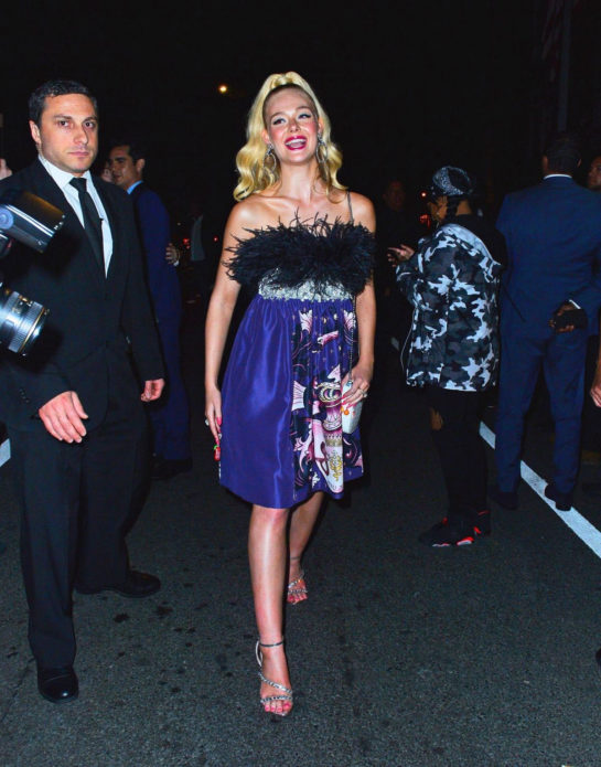 Elle Fanning at Met Gala After-party in New York