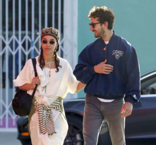FKA Twigs and Shia LaBeouf Out Shopping in Los Angeles