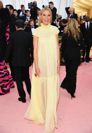Gwyneth Paltrow at 2019 Met Gala in New York