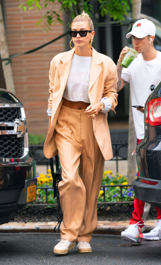 Hailey Baldwin and Justin Bieber Out and About in New York