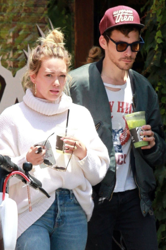 Hilary Duff and Matthew Koma Out for Coffee in Los Angeles