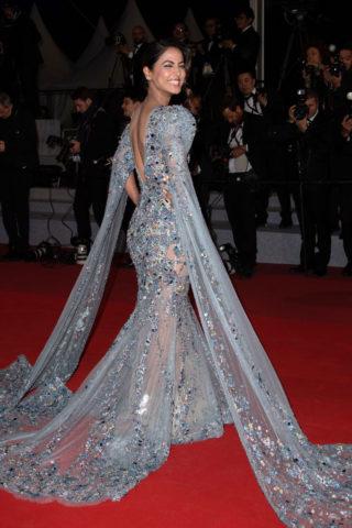 Hina Khan at Bacurau Screening at 2019 Cannes Film Festival